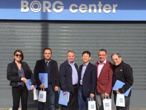 Un importante grupo de doctores americanos se forma en BORG Center