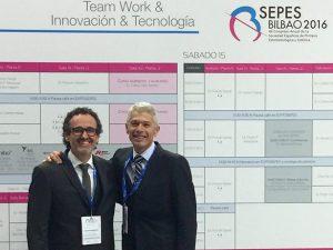 El Dr. Vela dicta una ponencia en el Congreso SEPES de Bilbao