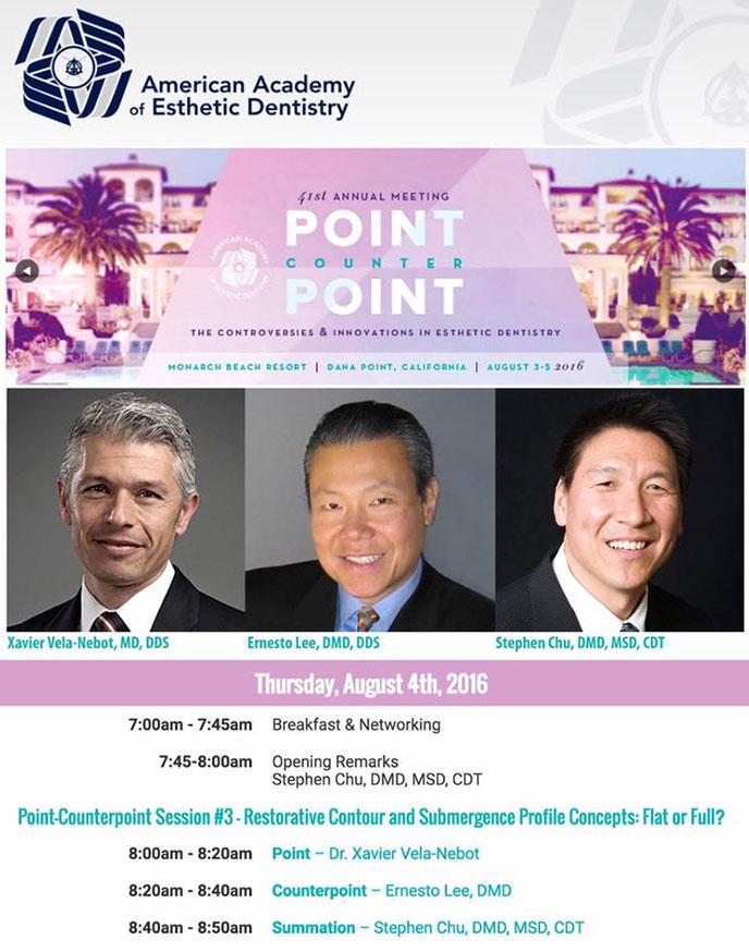 reunion academia americana estetica dental